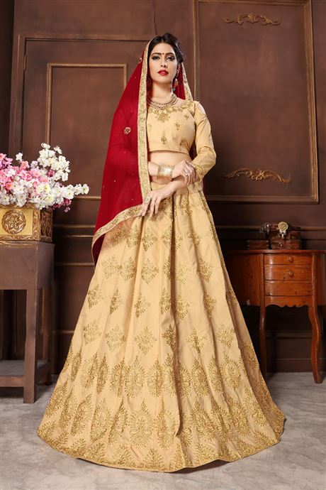 Reception Bridal Wear Indian Lehenga Catalogue Supplier And Wholesaler