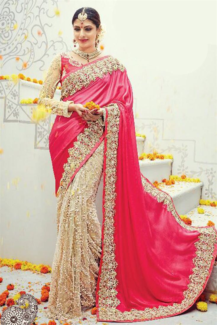 Branded Bridal Saree Catalogue Wholesaler In Surat