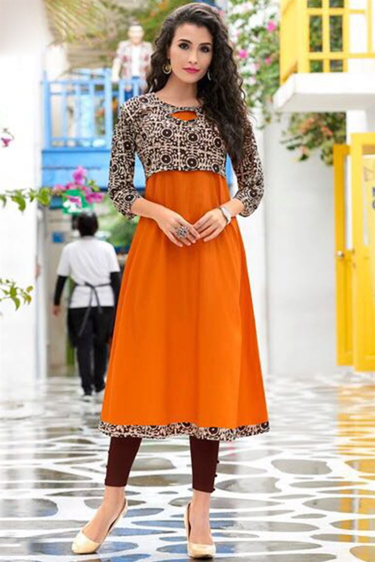 41e61f59c4418 Buy Designer Kurtis Online In Bulk Girls Kurti Catalog Wholesaler India