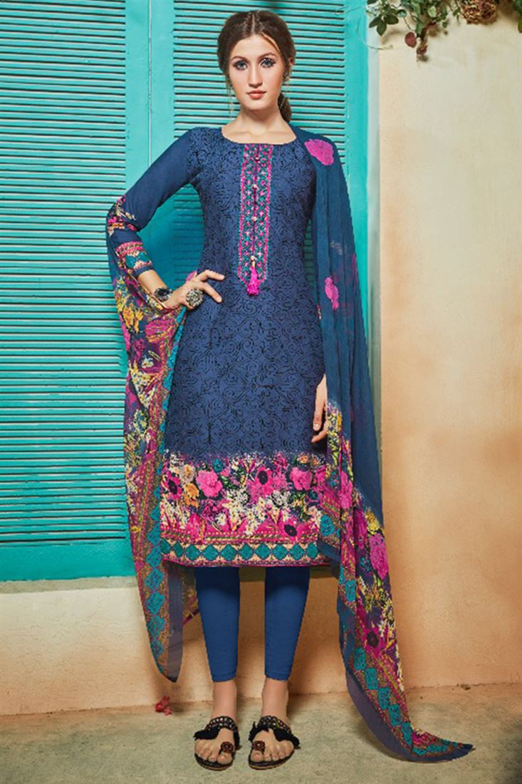 376d01b8dec Cheap Price Indian Ladies Suits In Wholesale Buy Online Ladies Printed  Daily Wear Suits Catalogue From Wholesaler