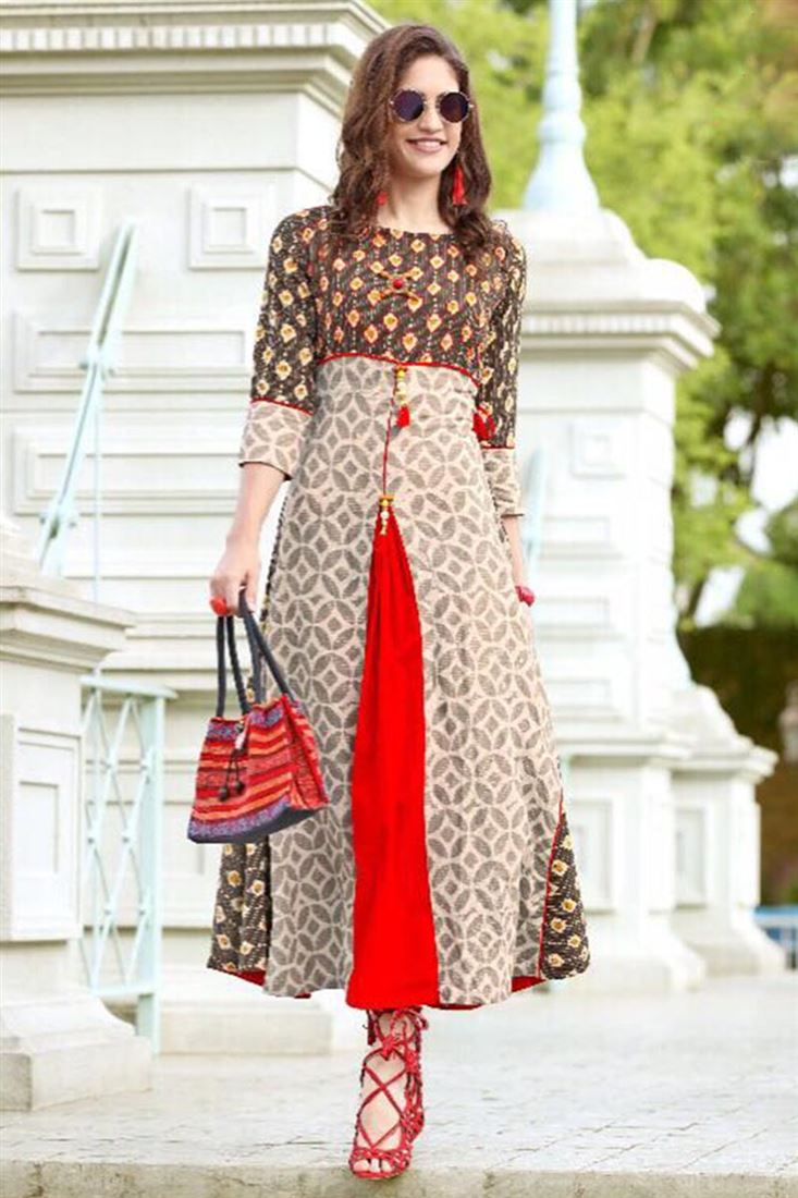 f9d2324d5 Daily Wear Cotton Wholesale Kurti Catalog Manufacturer in Colombia
