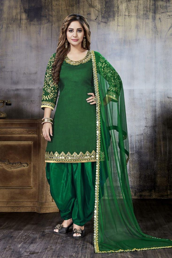 Designer Silk Wholesale Embroidered Salwar Kameez Catlog Manufacturer In United Kingdom
