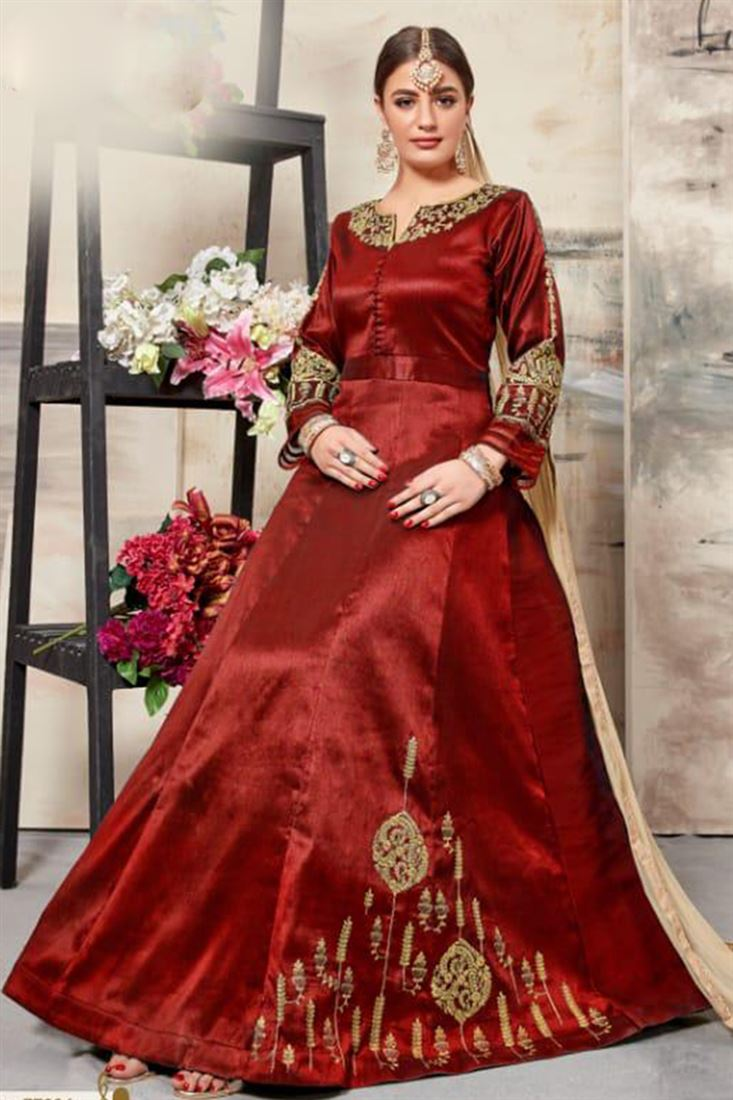 49630d7eb7 Full-Long-Semi-Stitched-Indian-Salwar-Kameez-Collection-Floor-Length-Silk- Fabric-Latest-Embroidery-Work-Salwar-Kameez-Catalog-WSM-1837-MAR19_4.jpeg