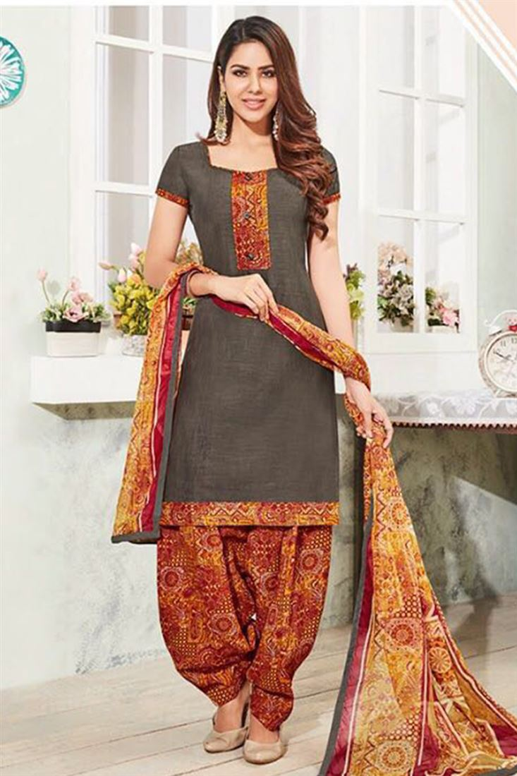e04b6cde7f Girls Indian Cotton Patiala Salwar Kameez Catalogue At Discounted Prices In  Australia