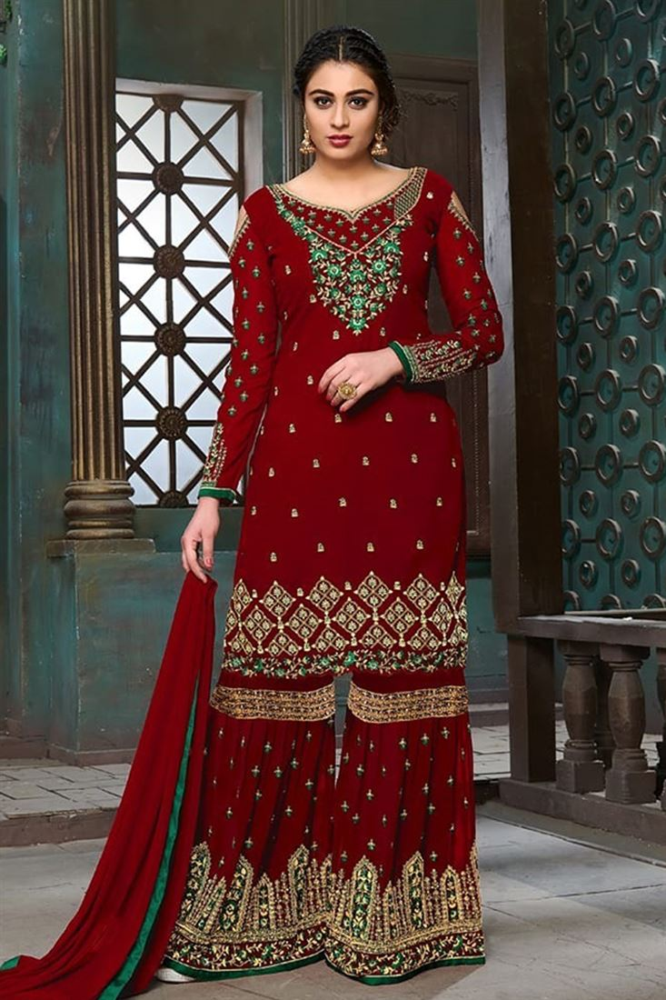 Girls Plazzo Salwar Suit Best Indian Collection Buy Online Direct From Surat Manufacturer Online