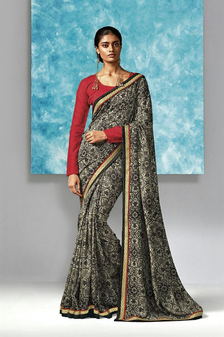 9900aa7189de7 Incredible-Black-And-Red-Pure-Cotton-Fabric-Banglori-Silk-Blouse-Designs -Ethnic-Saree-Online-WSM-693 1.jpeg