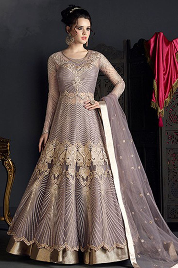 Indian Heavy Work Net Bridal Wedding Wear Designer Girls Collection