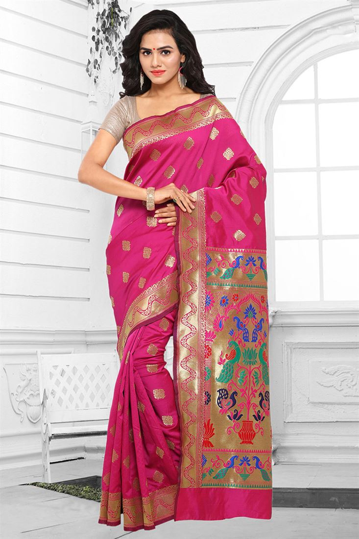 Latest Art Silk Wholesale Saree Catlogs Manufacturer In ...