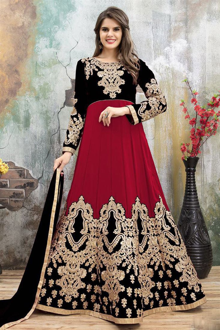 India Online Internet Use In India And The Development Of: Pakistani Faux Georgette Wholesale Embroidered Salwar