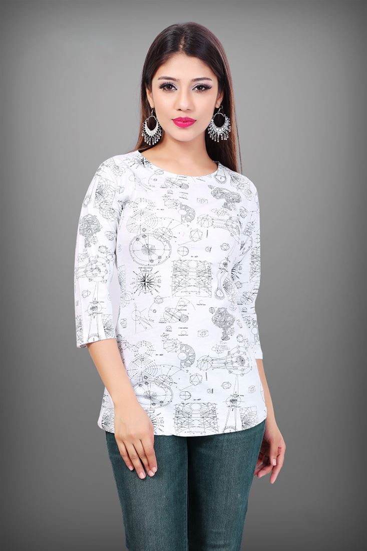 00460511ec38 Ready To Wear Tshirts For College Girls Cheap Price Daily Wear ...