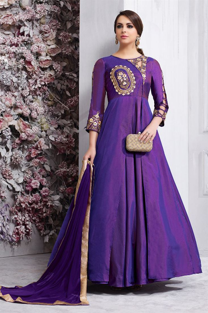 Reaymade Long Anarkali Designer Salwar Kameez Embroidered Catalog