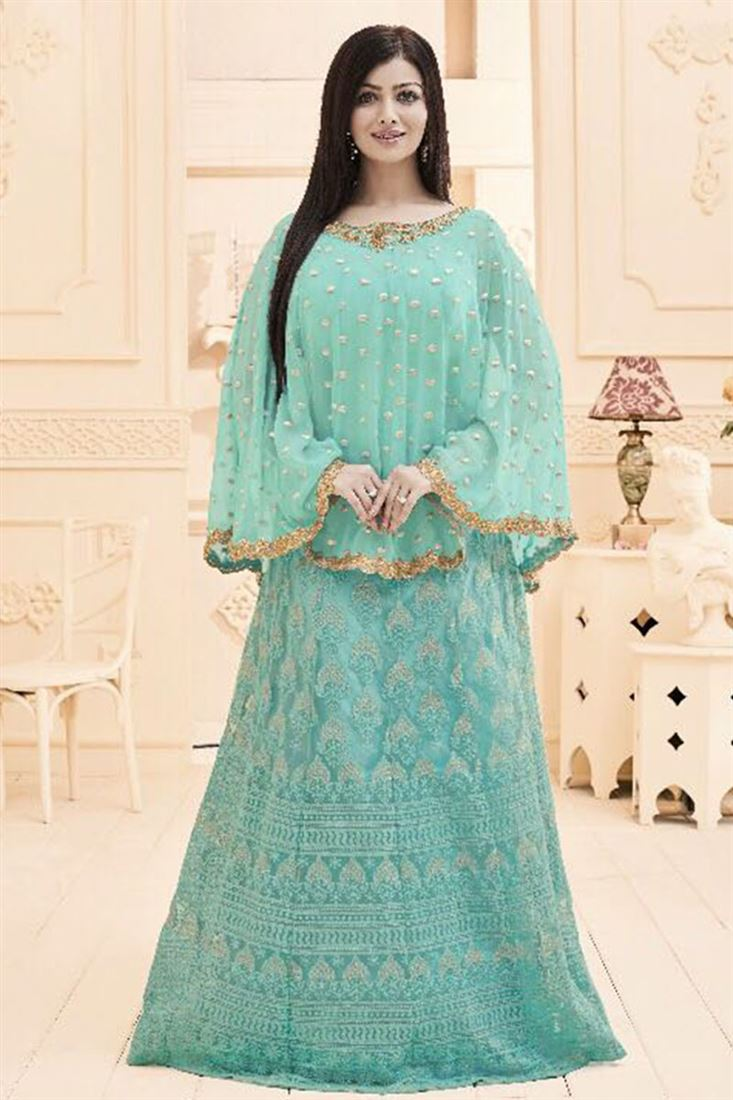 Unique Silk Net Fabric Wholesale Embroidered Salwar Kameez Catlogs Supplier in Netherlands