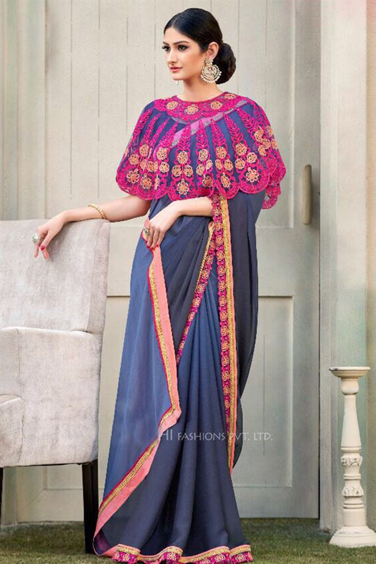 b3b3eea592 Wedding-Georgette-Sarees-Online-Shoping-In-India-Silk-Sarees -Wholesale-Dealers-Buy-Sarees-Online-In-Malaysia-WSM-1236_8.jpeg