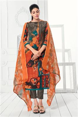 b5c52fee90 Cheap Price Daily Wear Salwar Kameez Collection Wholesale Supplier Of  Printed Straight Unstitched Cotton Churidar Suits