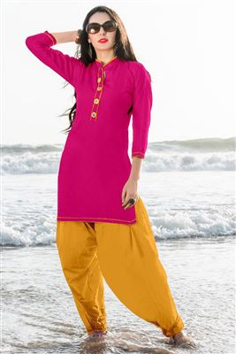Short cotton kurtis