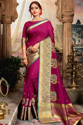 88b915d22d Daily Wear Silk Wholesale Embroidered Saree Catlog Manufacturer In Colombia