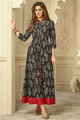 6180258e9b3 Designer Indian Kurtis Catalog Supplier In Mumbai Buy Girls Kurti At Cheap  Prices