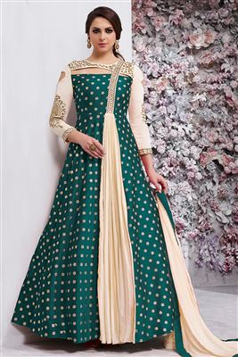 Embroidered Designer Long Anarkali Style Different Colors Salwar