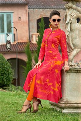 Latest Gown Style Designer Kurtis Wholesaler Buy Kurtis Wholesale ... 574fe50ec