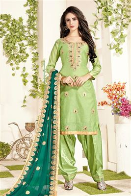e442270aab Party Wear Punjabi Patiala Salwar Kameez Catalog Manufacturer In India