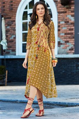 Rayon Printed Unique Kurtis For Girls Buy Latest Kurti Catalogs 2018